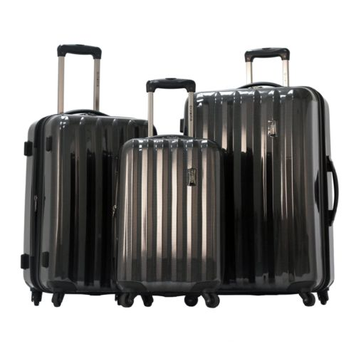 Olympia Luggage, Titan 3-pc. Expandable Luggage Set