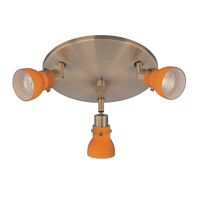 Director II 3-Light Ceiling Lamp