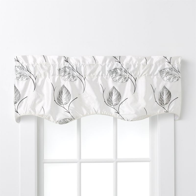 Ellis Curtains Astonish Embroidered Duchess Valance - 15'' x 50''