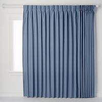 Ellis Curtains Crosby Pinch-Pleat Patio Door Window Panel - 96'' x 84''