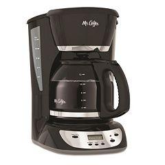 Mr. Coffee Black 12-Cup Programmable Coffee Maker