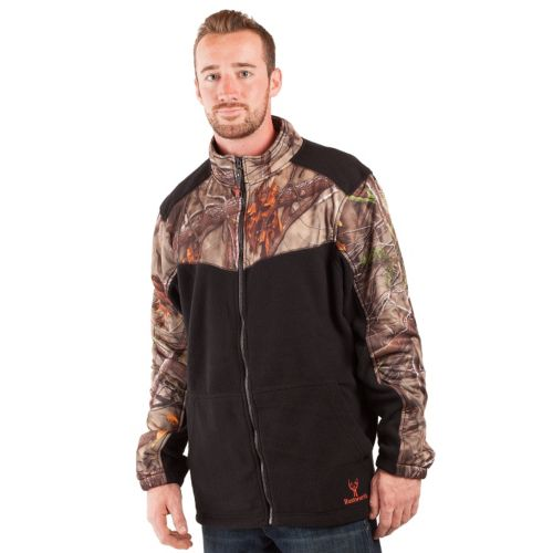 Huntworth Camouflage Fleece Jacket - Men