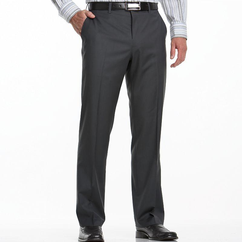 Big & Tall Apt. 9® Flat-Front Dress Pants