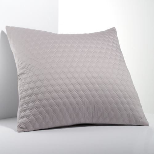 Simply Vera Vera Wang City Shadow Quilted Euro Sham