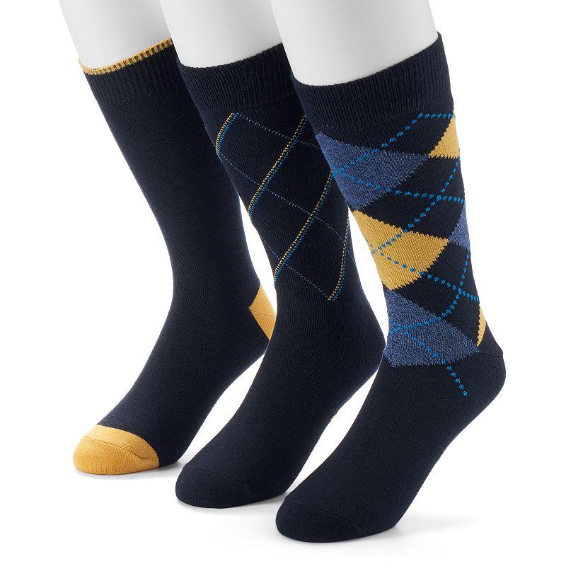 Men's Dockers® Argyle 3-pk. Dress-Casual Socks