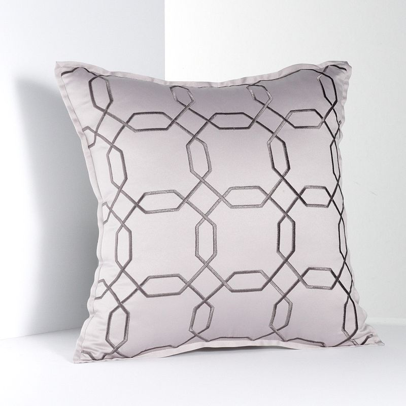Simply Vera Vera Wang City Shadow Trellis Decorative Pillow