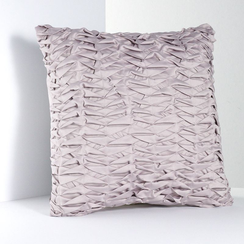 Simply Vera Vera Wang City Shadow Pleated Decorative Pillow