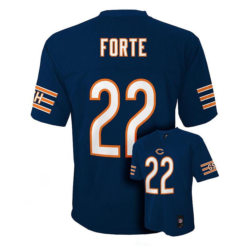 Boys 8-20 Chicago Bears Matt Forte NFL Jersey