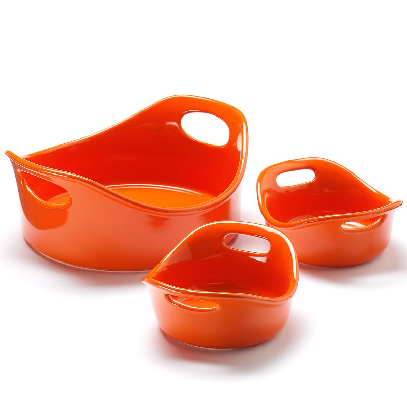 Rachael Ray 3-pc. Stoneware Bowl Set