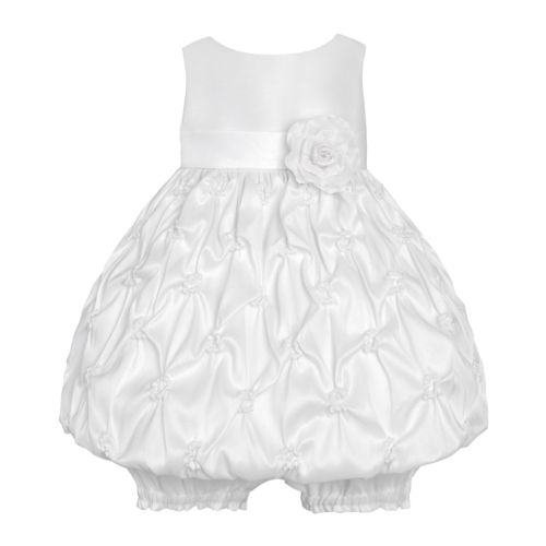 American Princess Floral Gathered Dress - Baby
