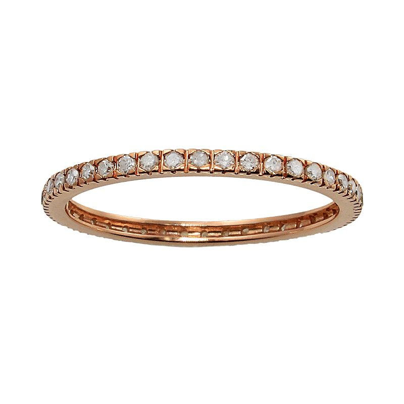 10k Rose Gold 1/3-ct. T.W. Diamond Eternity Wedding Ring