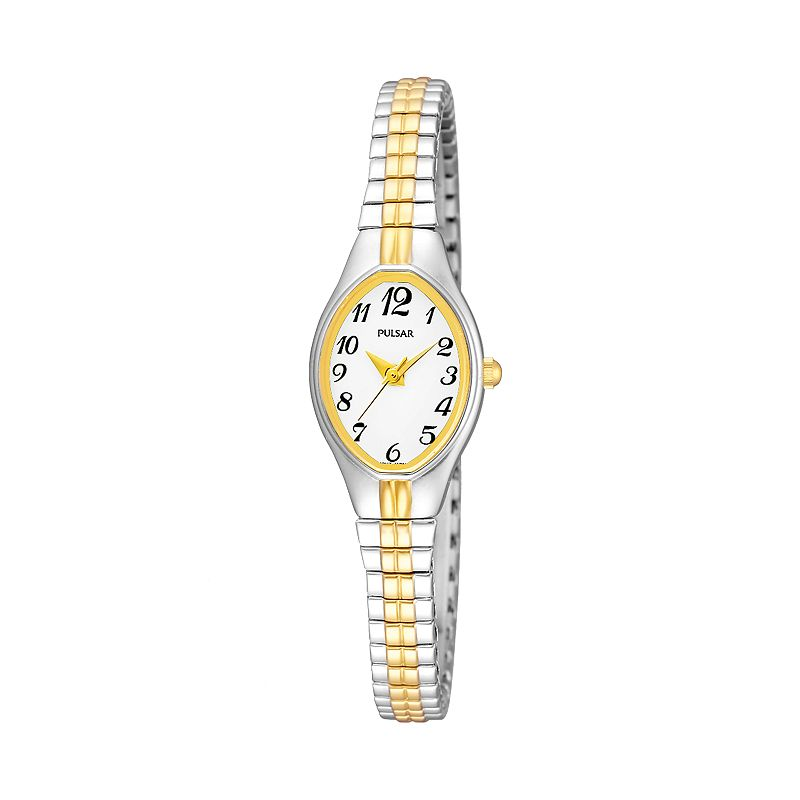 Pulsar Two Tone Expansion Watch - PC3272 - Women
