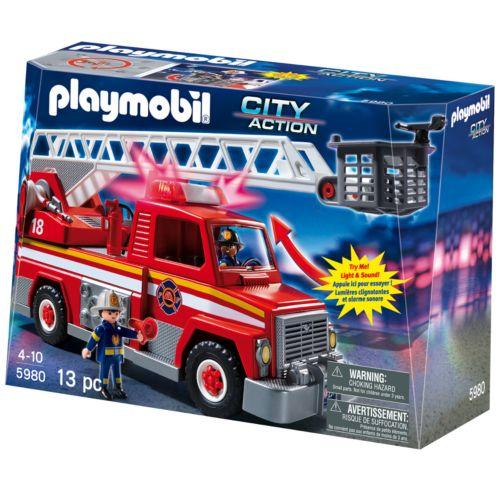 Playmobil Rescue Ladder Unit Playset - 5980