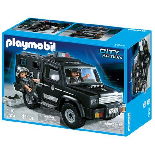 Playmobil Tactical Unit Car Playset - 5974