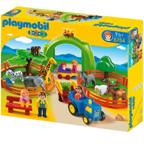 Playmobil Large Zoo Playset - 6754