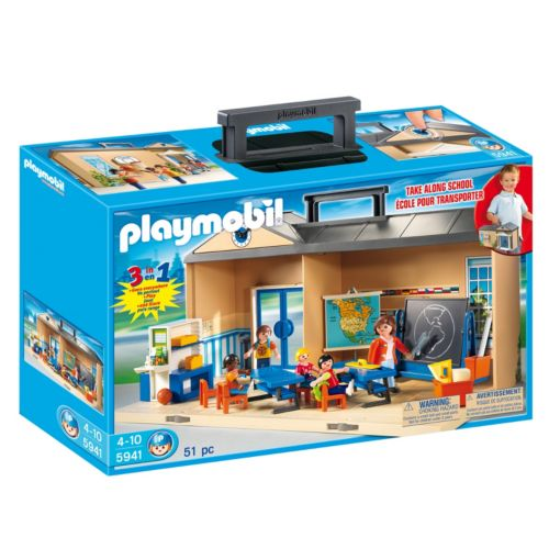Playmobil Take Along School Playset - 5941