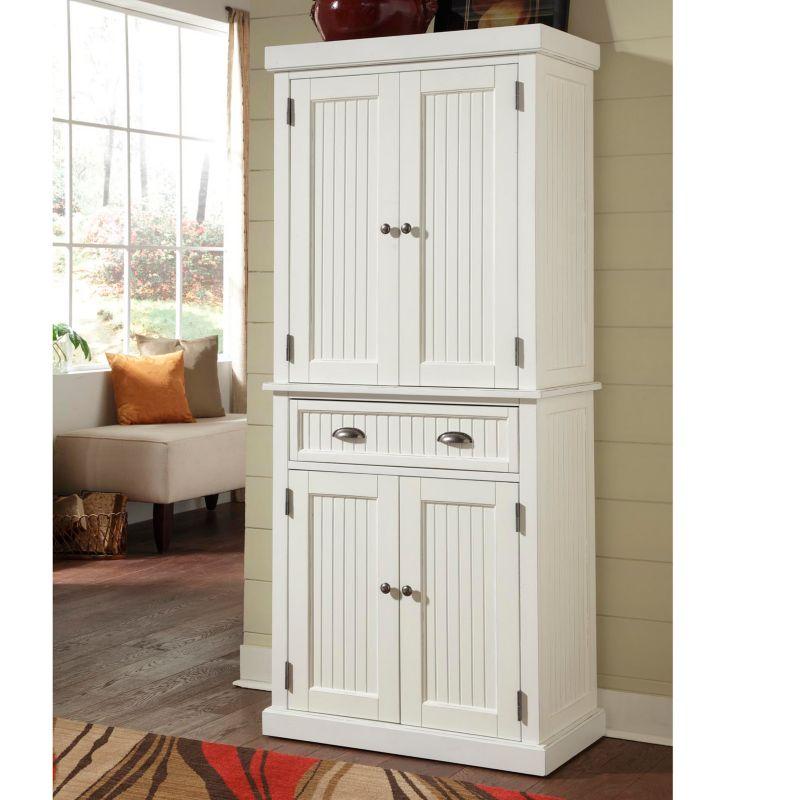 Home Styles Nantucket Pantry, White thumbnail