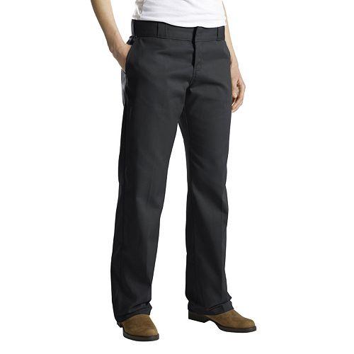 Popular Dickies Girl HH166 Classic 5Pocket Straight Leg Pants Women Ladies