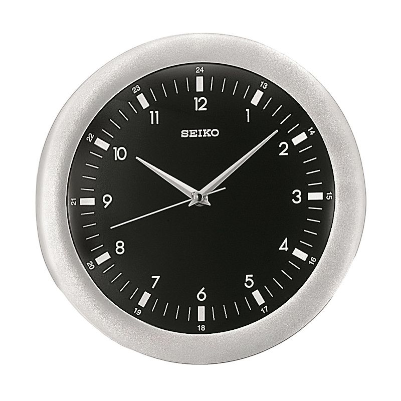 Seiko Silver Tone Wall Clock - QXA137KLH
