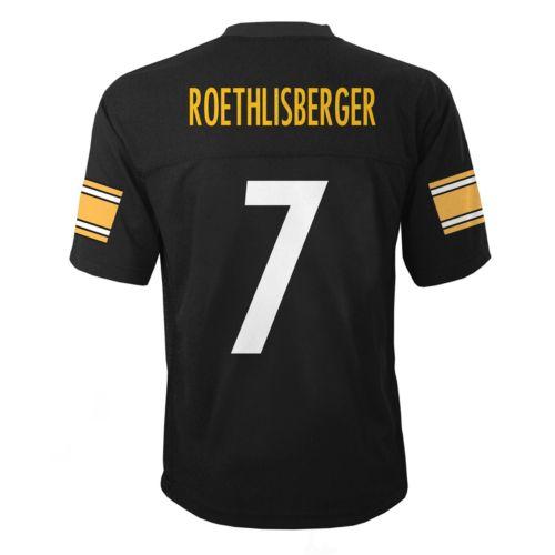 Boys 4-7 Pittsburgh Steelers Ben Roethlisberger Jersey