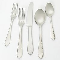 Ginkgo Starlight 18/10 Stainless Steel 42-pc. Flatware Set