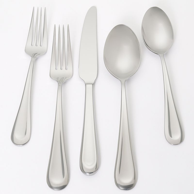 Ginkgo Corrie 18/0 Stainless Steel 20-pc. Flatware Set