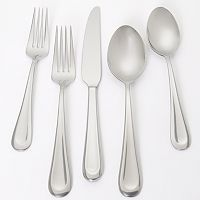 Ginkgo Corrie 18/0 Stainless Steel 42-pc. Flatware Set