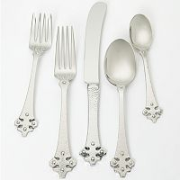 Ginkgo Celtic 18/10 Stainless Steel 5-pc. Flatware Set