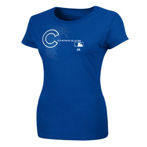 Majestic Chicago Cubs AC Change Up Tee - Women's Plus