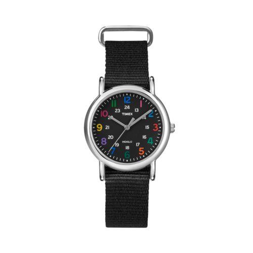 Timex Weekender Silver Tone Watch - T2N869KY - Women