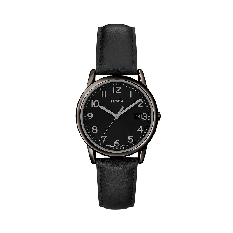 Timex Men's Leather Watch - T2N947KZ
