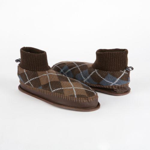 MUK LUKS Sheldon Retro Ankle Slippers