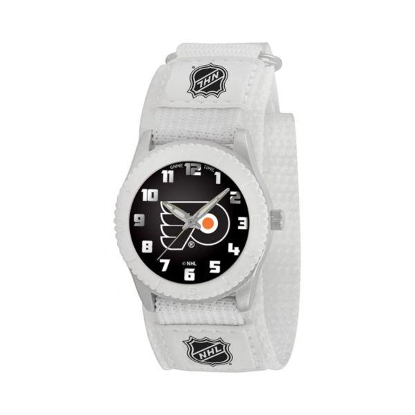 Game Time Rookie Series Philadelphia Flyers Silver Tone Watch - NHL-ROW-PHI - Kids