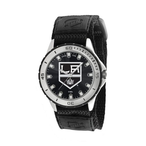 Game Time Veteran Series Los Angeles Kings Silver Tone Watch - NHL-VET-LA - Men