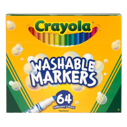 Crayola 64-pk. Pip-Squeaks Skinnies Washable Markers