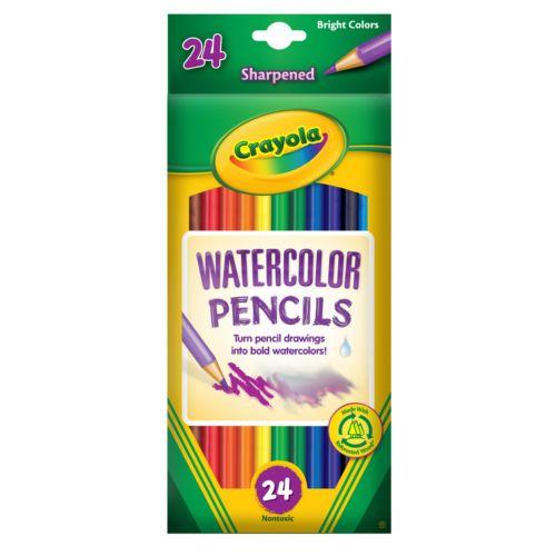 Crayola 24-pk. Watercolor Pencils