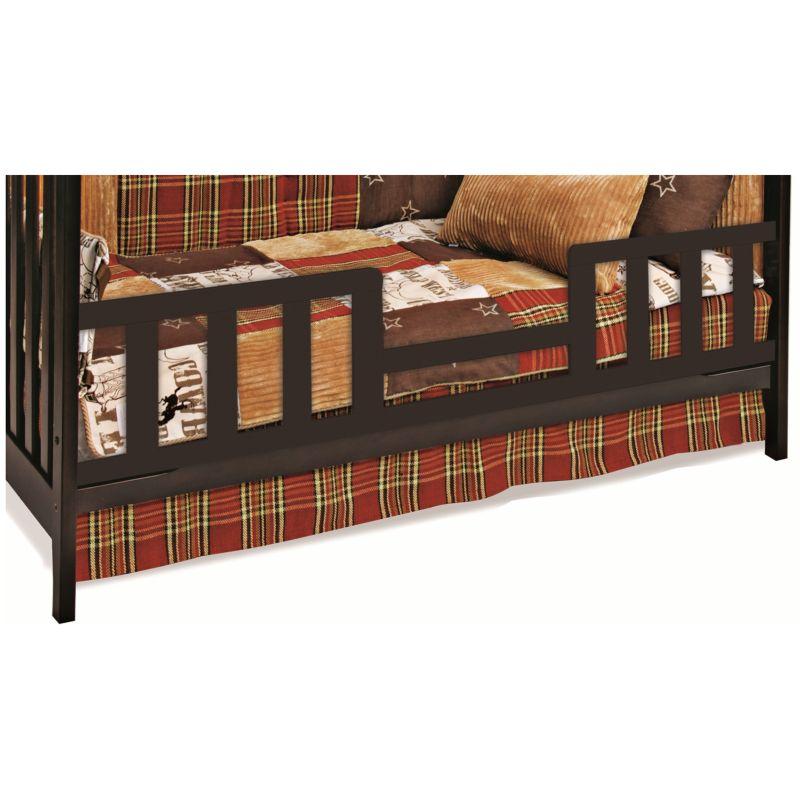 Child Craft Toddler Bed Guard Rail, Brown thumbnail