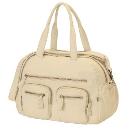 OiOi Faux Lizard Carry-All Diaper Bag