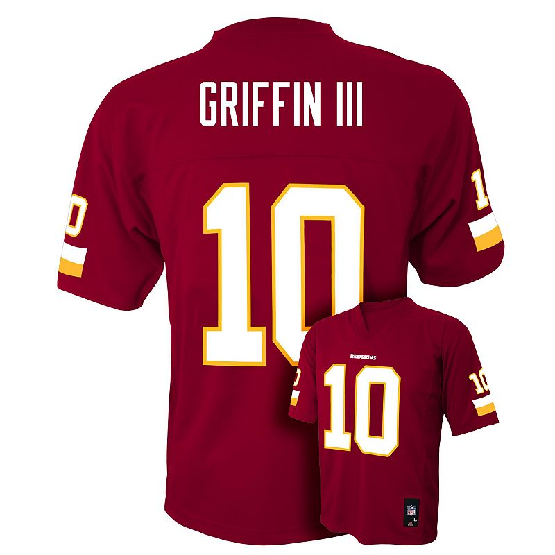 Boys 8-20 Washington Redskins Robert Griffin III Jersey