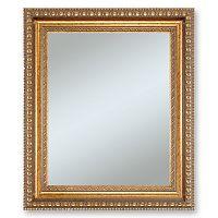 Alpine Lucia Gold Finish Wall Mirror