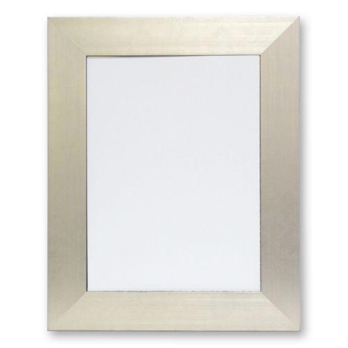 Alpine Silvertone Wall Mirror