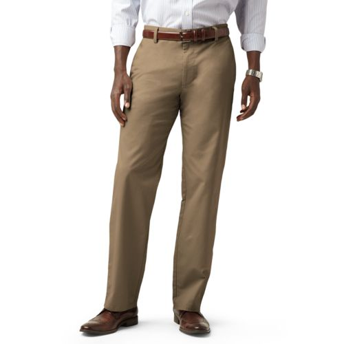 Dockers® Easy Khaki D2 Straight-Fit Flat-Front Pants