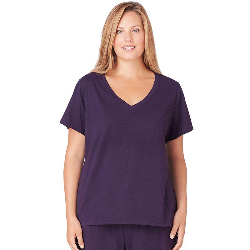 Plus Size Jockey Pajamas: Solid Pajama Tee
