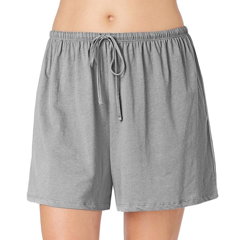 Plus Size Jockey Pajamas: Solid Pajama Shorts