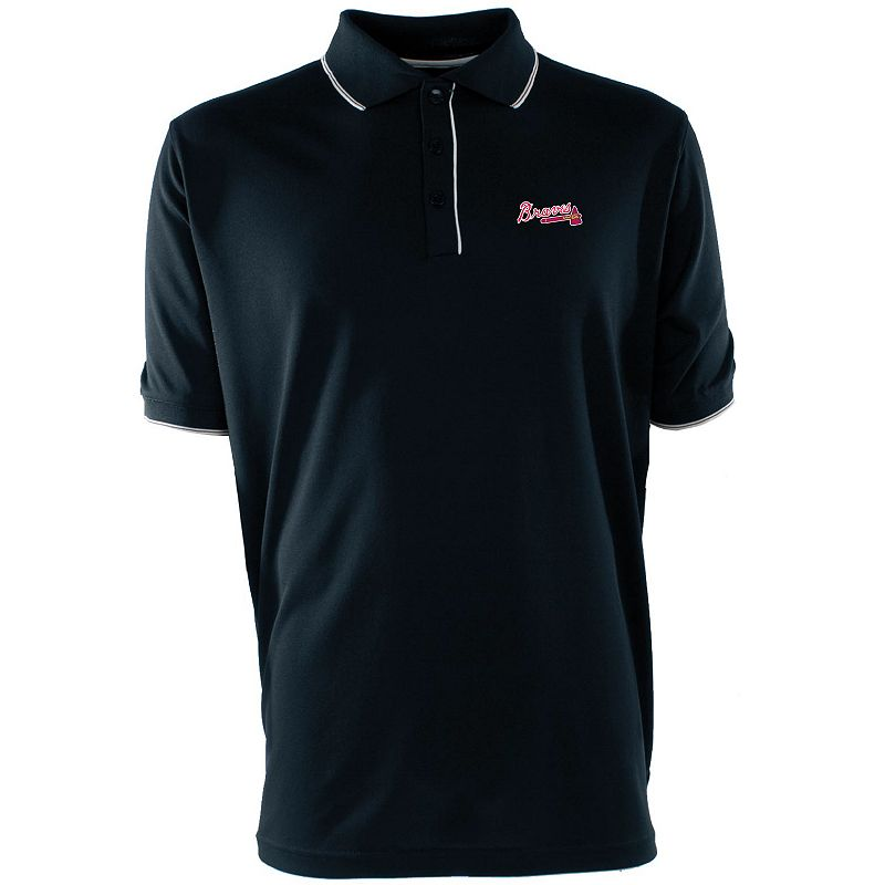 Men's Atlanta Braves Desert Dry Xtra-Lite Polo