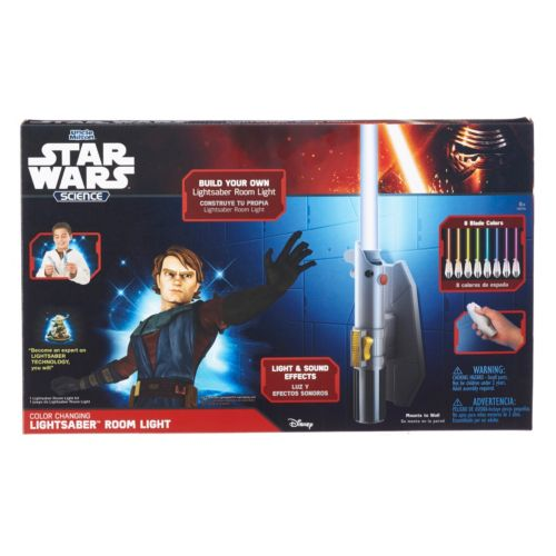 Star Wars Science RC Lightsaber Room Light by Uncle Milton