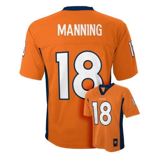 Boys 8-20 Denver Broncos Peyton Manning Jersey