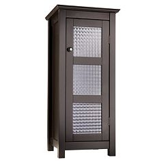 Elegant Home Fashions Chesterfield Floor Cabinet by