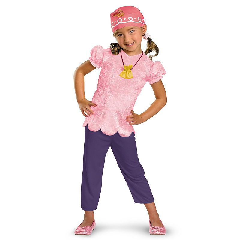 Disney Jake and the Never Land Pirates Izzy Costume - Toddler / Kids