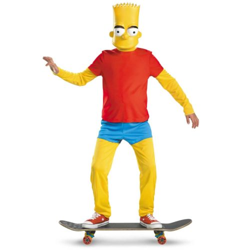 The Simpsons Bart Simpson Deluxe Costume - Kids